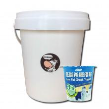 Juono 低脂希臘優格 (100g/ 12杯入 和 1000g/ 1罐)