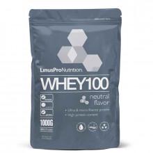 LinusPro 丹麥製造 WHEY 100 濃縮乳清蛋白 高蛋白  1000公克(40份)