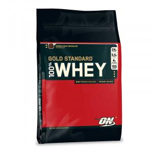 (即期品半價) Optimum Nutrition ON 乳清蛋白 100% Whey 10磅/149份 金牌頂級高蛋白