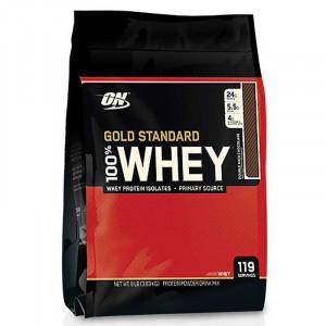 【即期品單包折850元】ON Optimum Nutrition Whey 乳清蛋白 雙濃巧克力 金牌頂級高蛋白 (3.63公斤 / 119份)