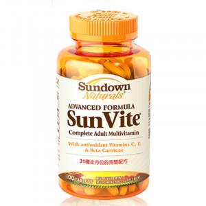 Sundown日落恩賜 SUNVITE®超級31綜合維生素+礦物質加強錠 (100錠)