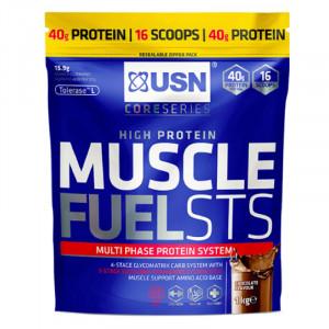 USN Muscle Fuel STS 能量型乳清蛋白粉 (1公斤 / 16份)