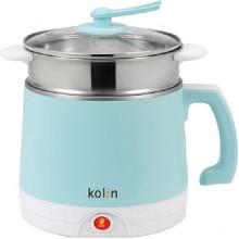 Kolin 歌林 快煮鍋 即時美味 快速料理 粉藍色 (2公升/ 1-2人份)