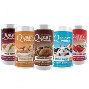【即期品現折900】Quest Nutrition 低熱量乳清蛋白 罐裝 (900公克 / 29份)