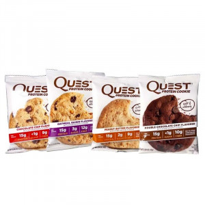 Quest Nutrition 高蛋白餅乾 12入