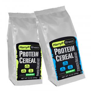 德國 HarryP Fitness 蛋白質穀物麥片 (454克 / 10份)