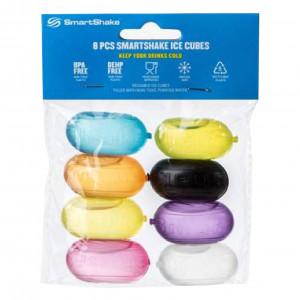 [SmartShake] Ice Cubes 食品級聚乙烯 塑膠冰塊 搖搖杯適用 (一袋8入)