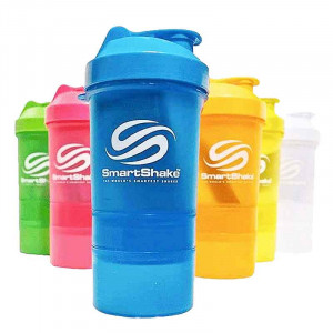SmartShake NEON 炫色霓彩  三層式多功能搖搖杯 600毫升 / 20盎司
