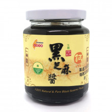 【特價$225】[一口田] 100%生機黑芝麻醬 (260克 / 13份)