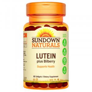 Sundown日落恩賜 葉黃素 + 山桑子強化軟膠囊-游離型新配方 (60粒)